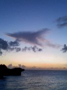 沖縄の夜空を眺めながら・・・・