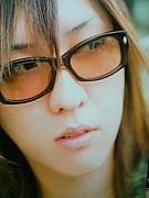 瑠樺さんの眼鏡姿。