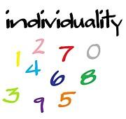 数字にも個性がある。