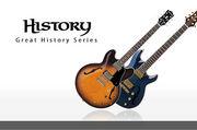 HISTORY ギター&ベース!