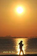 光と影 太陽と月 空と海