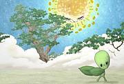 のびろのびろだいすきな木