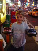 NYC GRAFFITI MESH CAP LOVERS