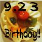 9月23日生まれです。