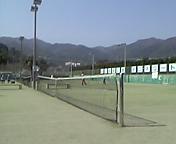 名古屋の辺りでテニス