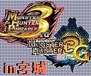 MHP3&MH3G in宮城
