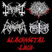 BLACK METAL LOGO