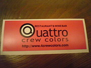 Quattro crew colors