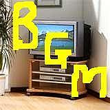テレビはBGM