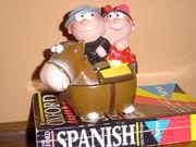 相方はスペイン人