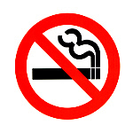 禁煙ですよ!