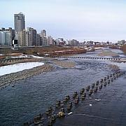 札幌・豊平川で釣る!