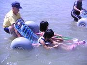 車椅子で海水浴を楽しもう
