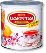 粉末レモンティを食べるのが好き