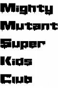 Mighty Mutant Super Kids Club