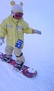 子供とスノーボード☆東北