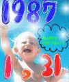 1987年1月31日生まれ