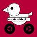 鳥とバイク