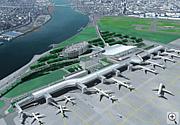 羽田空港を中心に国際化が進む