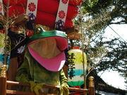 蛙飛び行事@金峯山寺