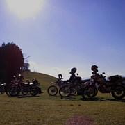 廃墟 山菜 温泉バイクツーリング