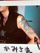 瑠樺さんの刺青