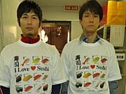 寿司Tシャツ☆寿司組