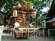 姫島地車保存会曳航