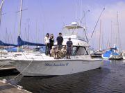 クルーザーボートで島巡り!