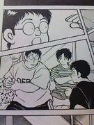 比呂、英雄、野田と友達に