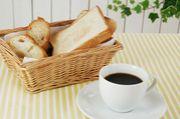 朝食はパンにコーヒー派