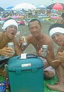 ビーチにビールっしょ