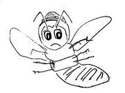 北大ミツバチ。