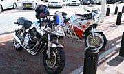 幕張PA 80s90sバイク