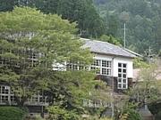 木造校舎の写真