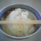 米が無いと肉が食えない