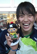 笑顔とパワーで! 今西郁瑠