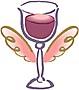 わいわい赤ワイン・・・。
