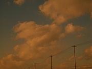 灰色に遠くなる遠くなる空
