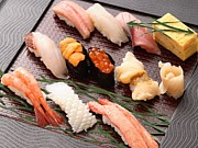 ご褒美は寿司