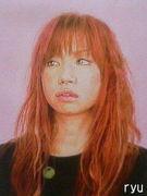 色鉛筆肖像画 ryuji