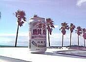 海で飲むビールが好き♪