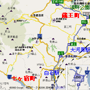 宮城県刈田郡 (蔵王町+七ヶ宿町)
