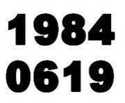 1984年6月19日生まれ♪
