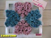 4 peace clover