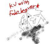 KJ  with  fake beaver★
