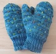北米で編み物