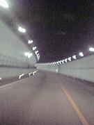 ・トンネル窓を開け疾走