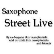 Nagano & Ueda Sax Street Live