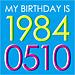 1984年5月10日生まれGO☆
